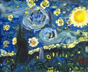 Van Gogh's Starry Night 2
