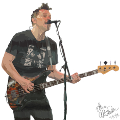 Mark Hoppus of blink-182